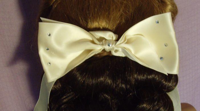 Hinterkopf mit Haarteil